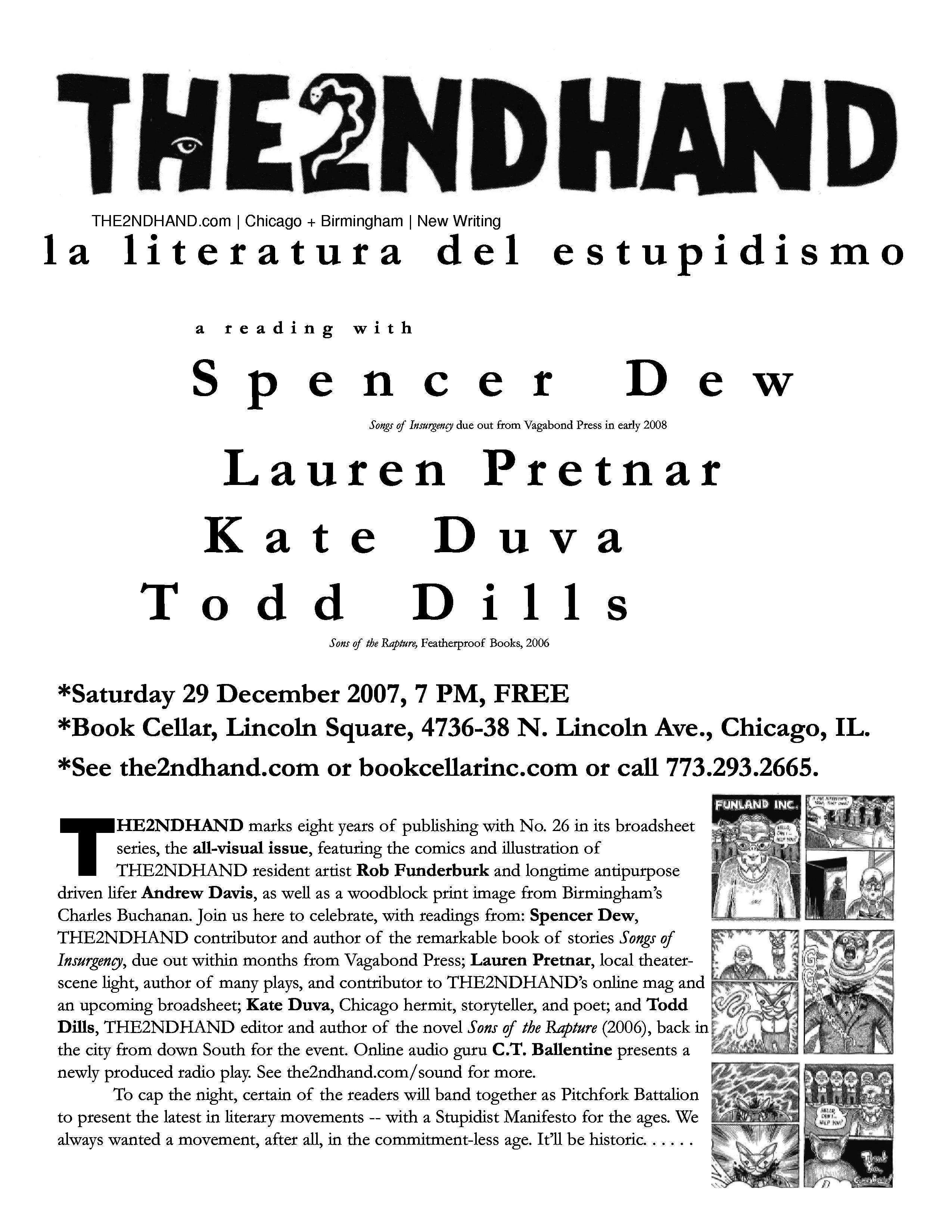 THE2NDHAND Installment 26